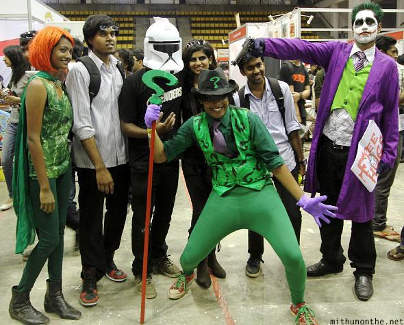 Cosplay pose Comic Con Bangalore