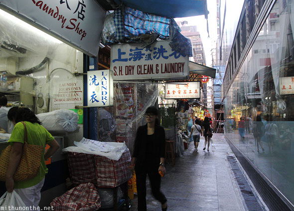 Dry cleaning laundry Kowloon Hong Kong