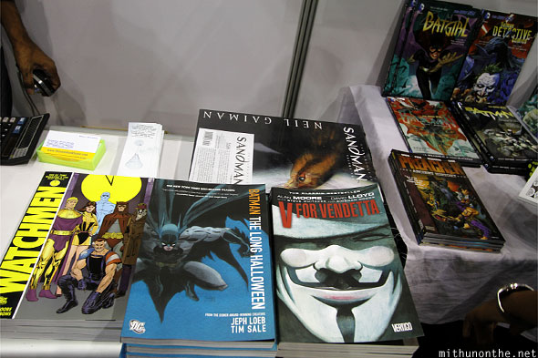 Graphic novels Comic Con Bengaluru