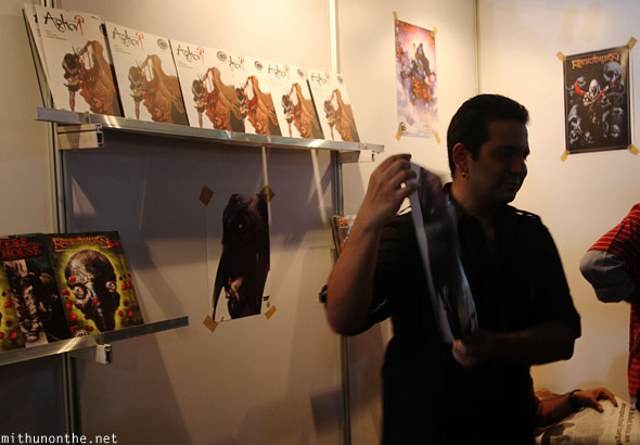 Holy Cow comics Bangalore