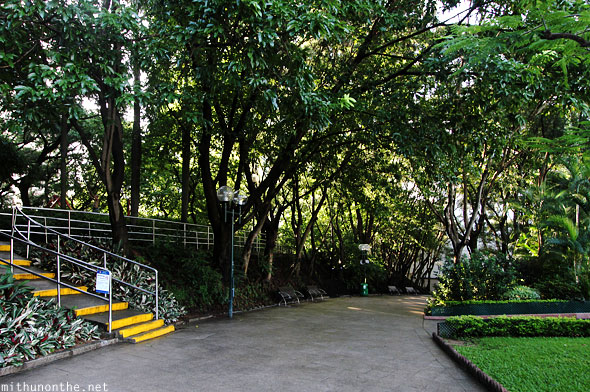 Kowloon park walk Hong Kong
