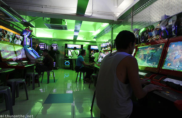 Kowloon video arcade Hong Kong