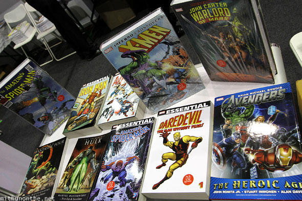 Marvel graphic novels Comic Con Bengaluru
