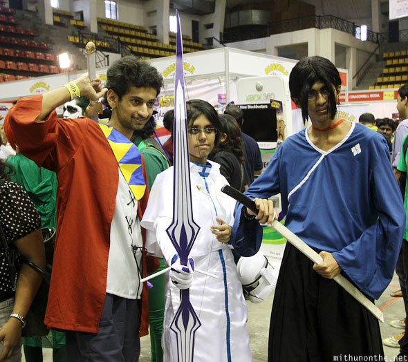 Mugen Jin Bleach cosplay Comic Con Bangalore