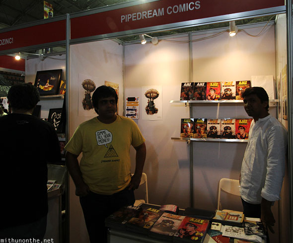 Pipedream comics at Comic Con Bangalore