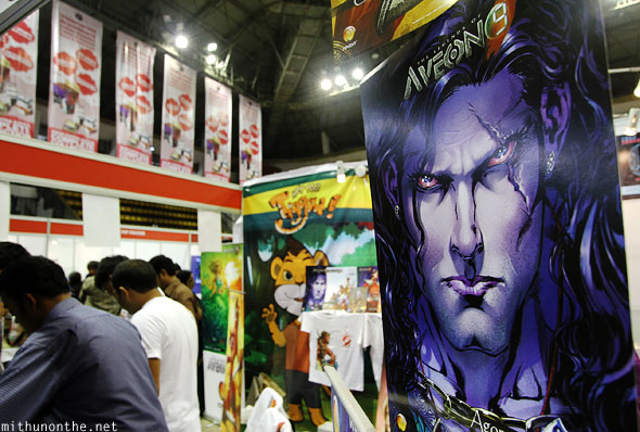 Rovolt entertainment Aveon 9 Comic Con Bangalore