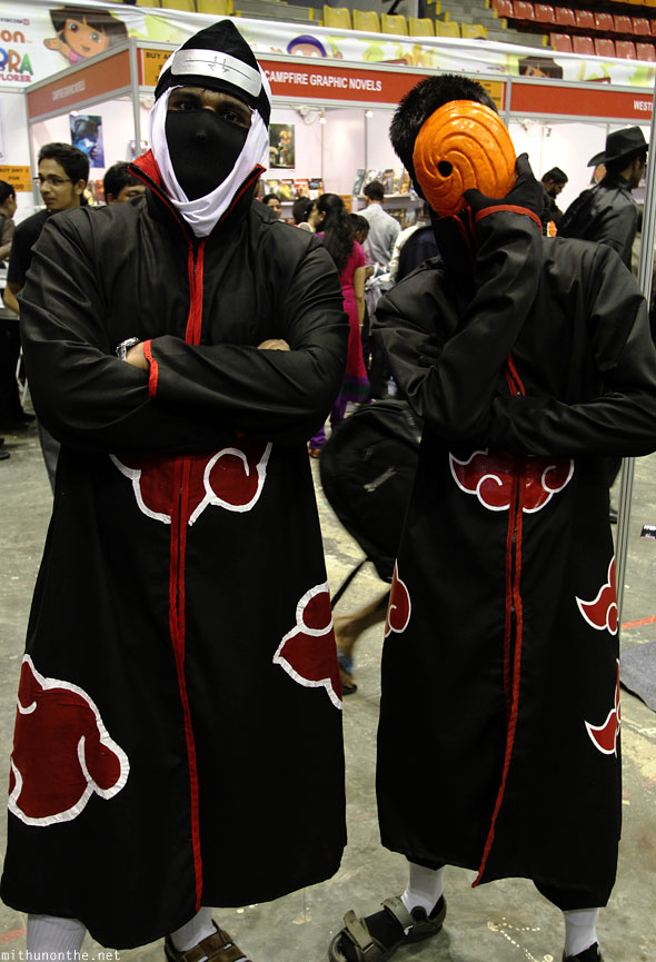 Six paths of pain Naruto cosplay Comic Con Bangalore