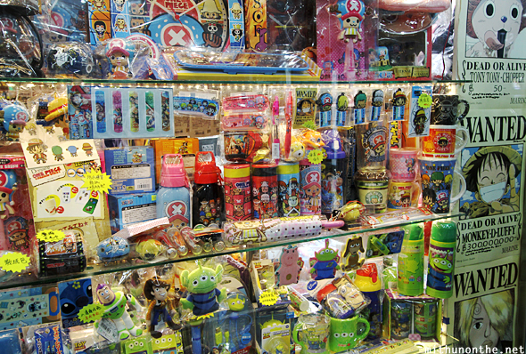 Anime toy store Hong Kong