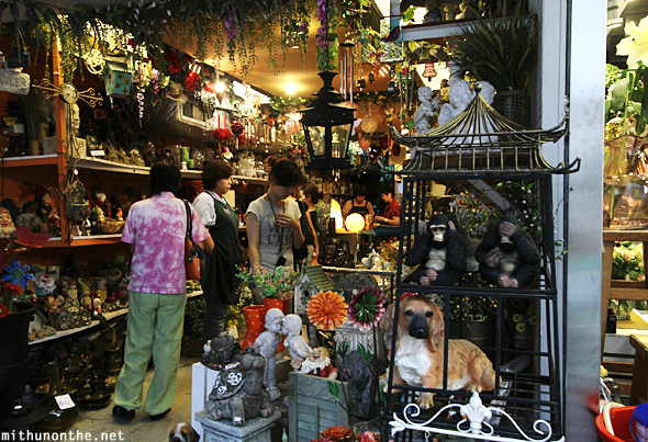 Garden decor flower market Hong Kong