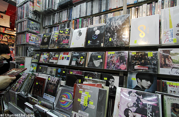 K-pop music store Hong Kong