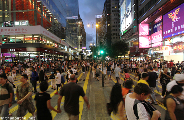 Nathan road open to public Hong Kong