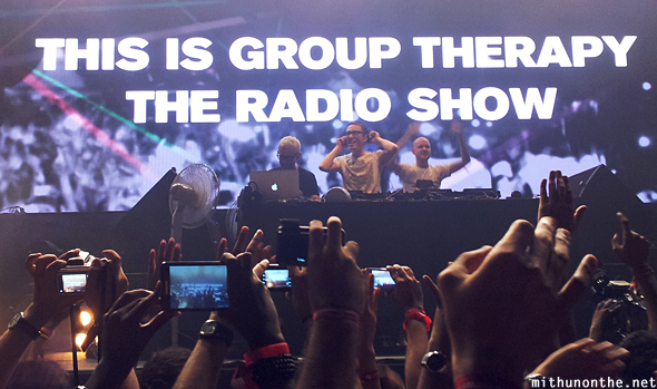 Above & Beyond group therapy Bangalore concert