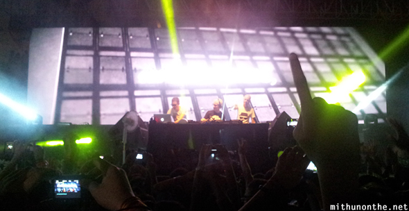 Above & Beyond live Bangalore India