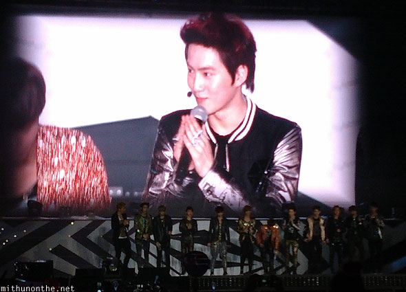 Exo members introductions SM Town Bangkok