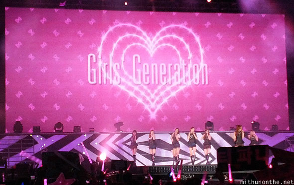 Girls Generation SM Town Bangkok