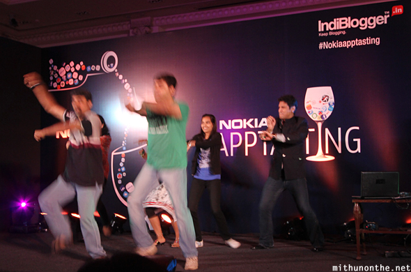 Rajiv Makhni doing Gangnam dance