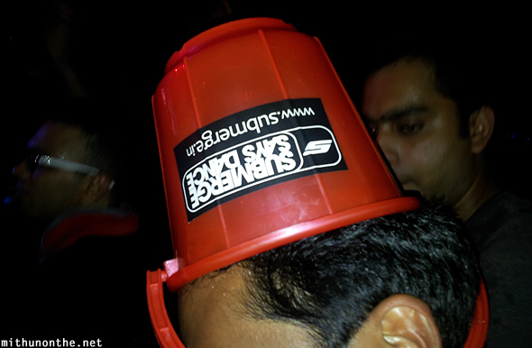 Submerge says dance bucket Bangalore
