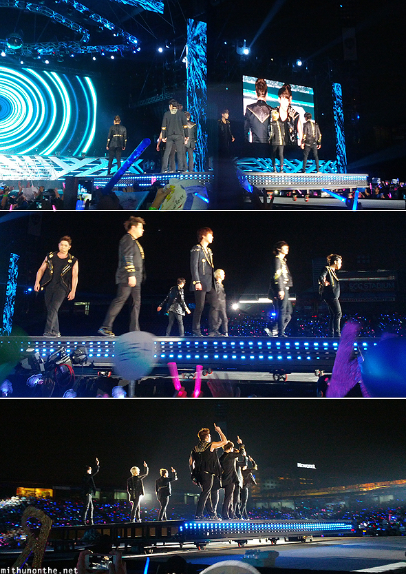 Super Junior moving stage SM Town Bangkok
