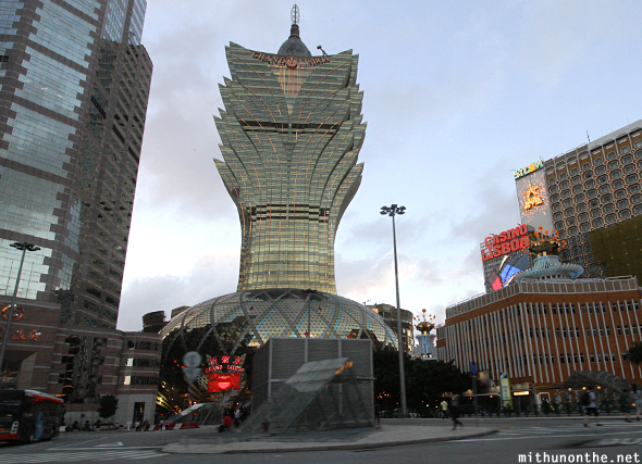 Grand Lisboa hotel casino Macau China