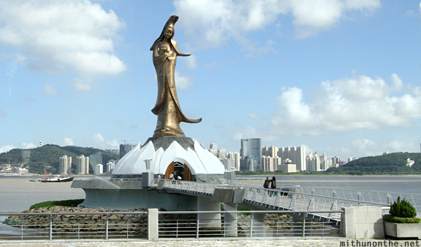 Kun Iam statue Goddess of Mercy Macau