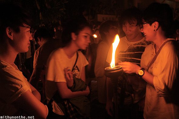 Lamp fire Chinese tourists Yeepeng Lanna