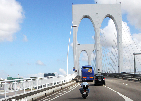 Macau bridge to Cotai
