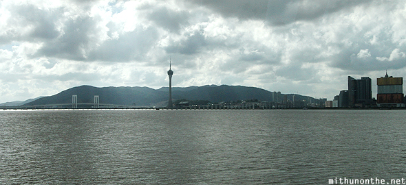 Macau sea tower MGM Grand