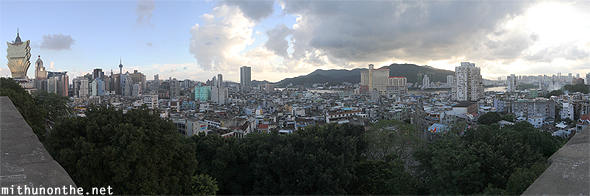 Macau viewpoint panorama