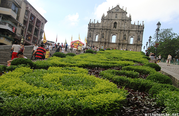 Ruins of St. Paul's Cathedral Macau China