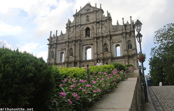 Ruins of St. Paul Cathedral Macau