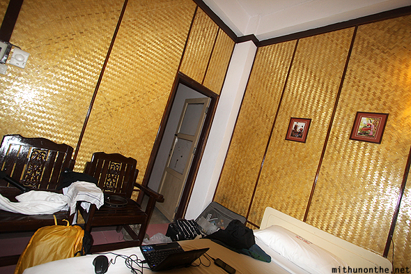 Rux Thai twin room Chiang Mai Thailand
