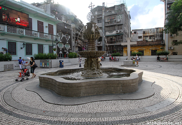 Senado square fountain Macau