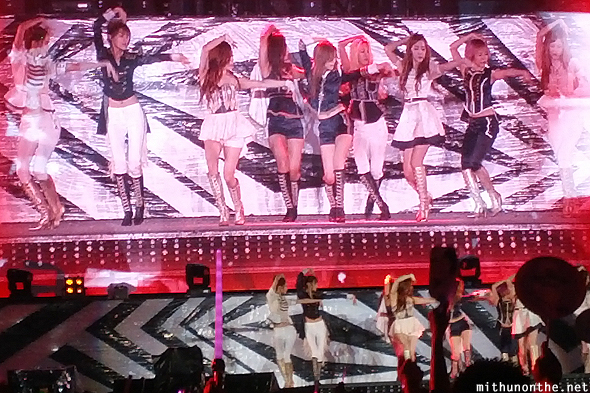 SNSD The Boys SM Town Bangkok