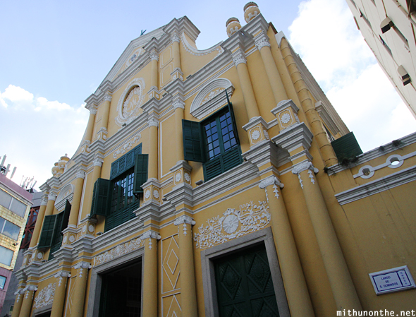 St. Domingos church Macau China