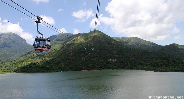 Cable car to Ngong Ping Hong Kong