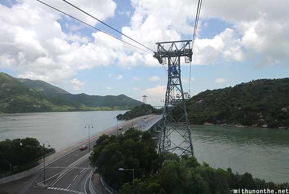 Cable car tower Hong Kong