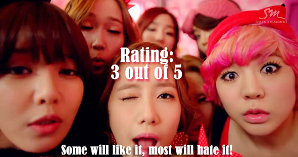Girls Generation I Got a Boy rating