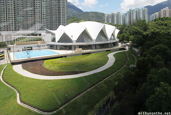 Ngong Ping swimming pool