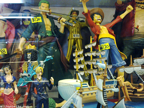 One Piece toys Hong Kong