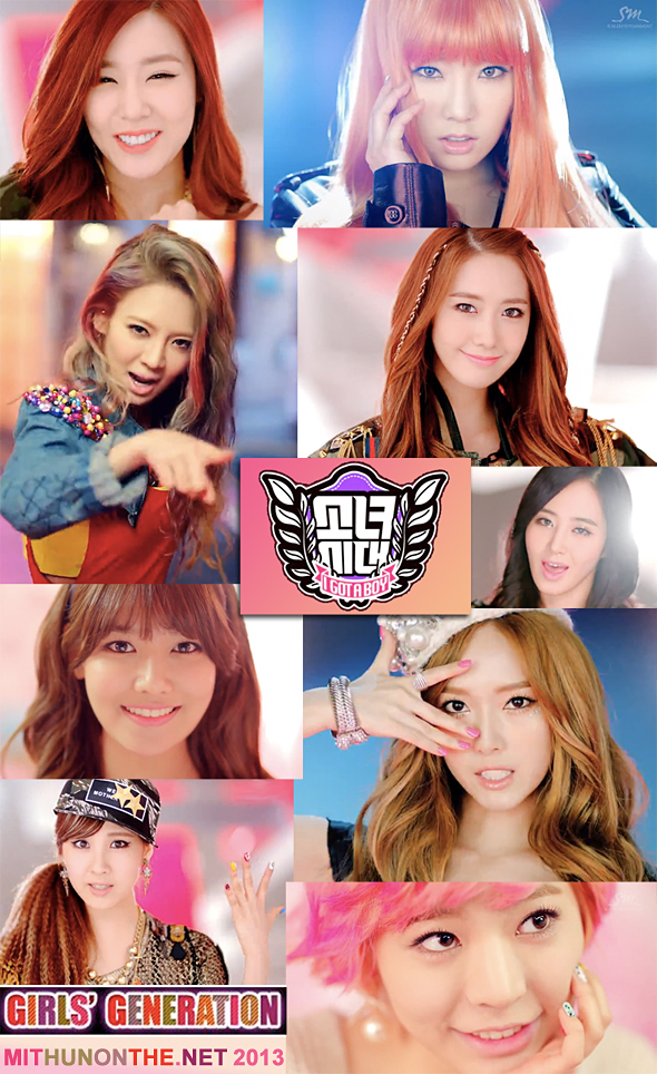 SNSD I Got a Boy MV members screencap