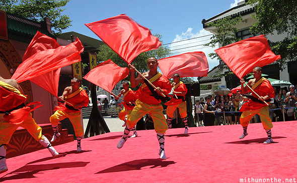 Ngong Ping performance Shaolin martial arts
