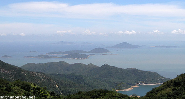 Outlying islands Lantau Hong Kong