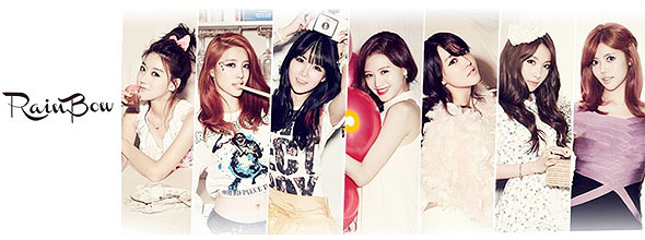 Rainbow members Syndrome kpop album