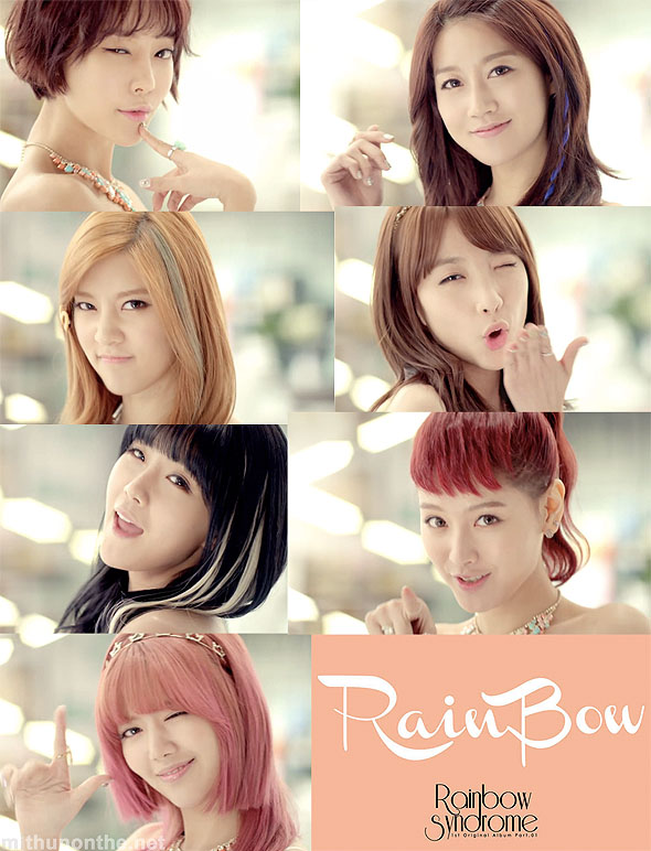 Rainbow Tell Me Tell Me Syndrome members k-pop
