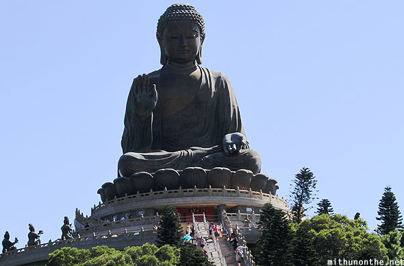 Tian Tan Buddha big statue Hong Kong
