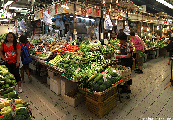 Fa Yuen vegetable market Hong Kong