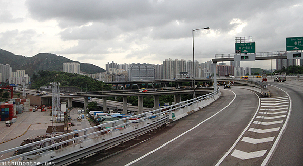 Hong Kong causeways