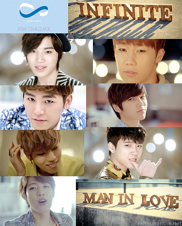 Infinite Man in Love screens members