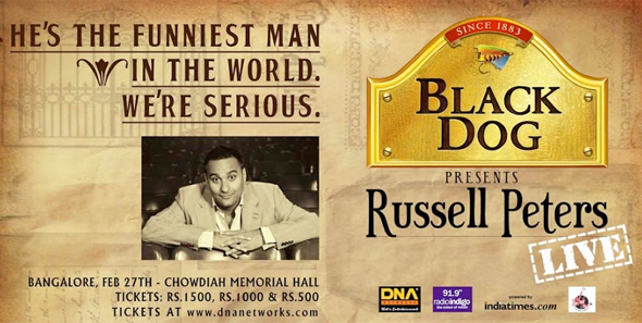 Russell Peters Black Dog