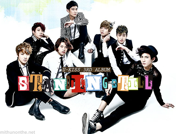 U-kiss collage album cover Standing Still